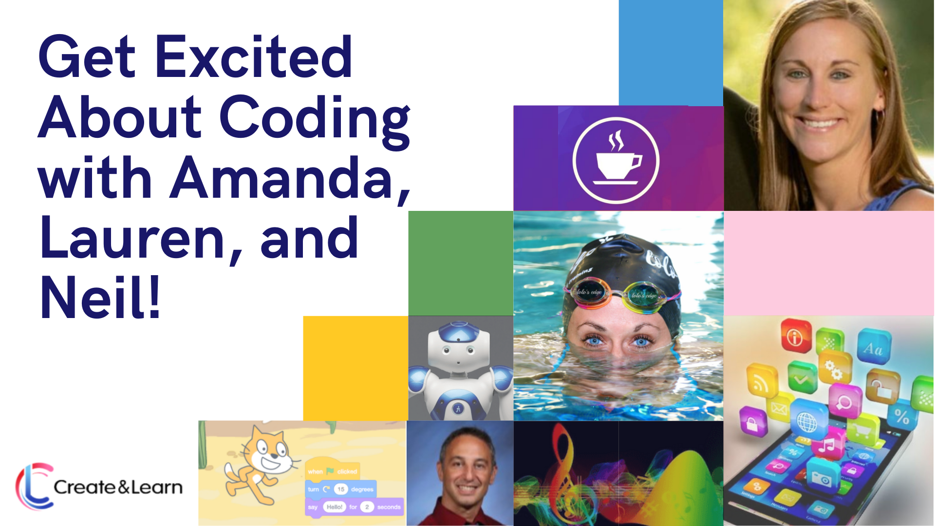 Robot, Swimming & Atari Games - Oh, My! Meet Our Awesome Teachers that Will Get Your Kids Excited About Learning Coding!