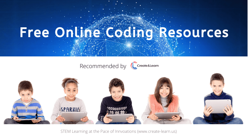 Top 5 Free Sites to Help Elementary and Middle Schoolers Learn to Code (Recommended by Create & Learn)
