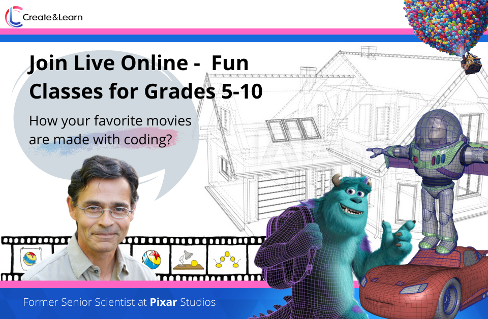 Join Live - Fun Classes with Apple and Pixar Experts
