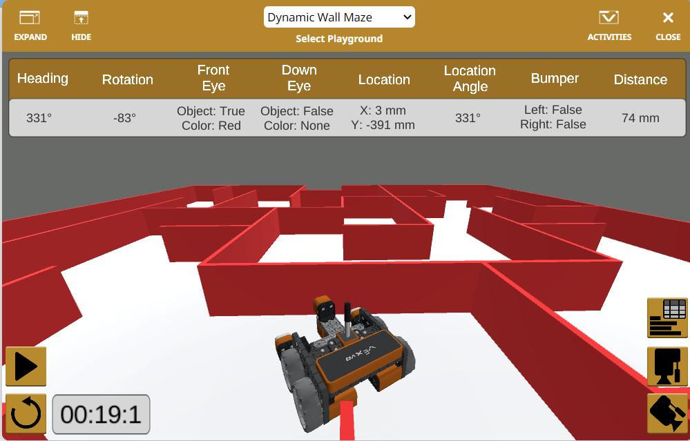Robotic Maze Navigation