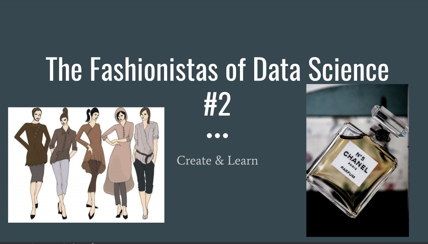 Fashionista of Data Science #2