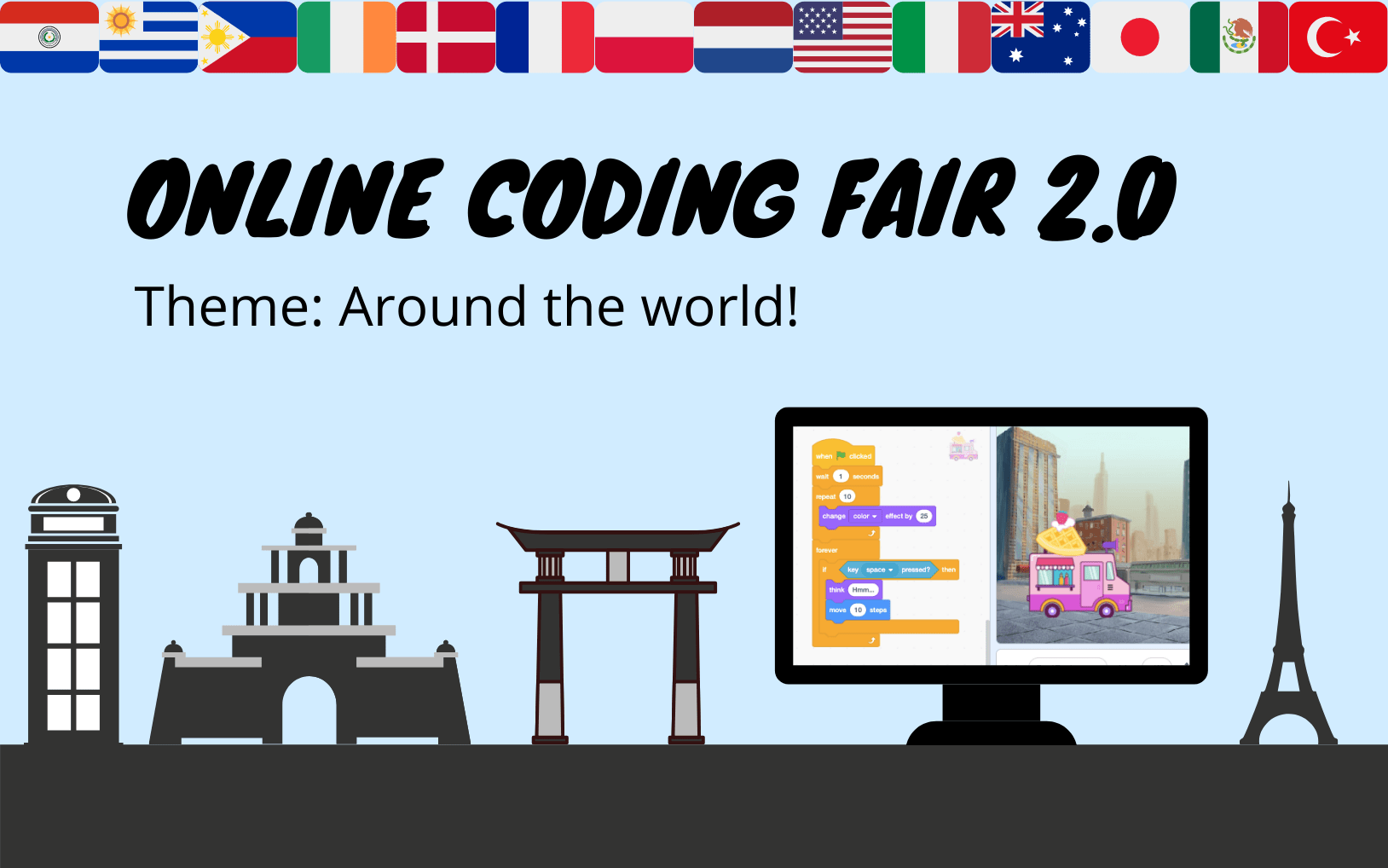 Online Coding Fair 2.0 - Around the World!